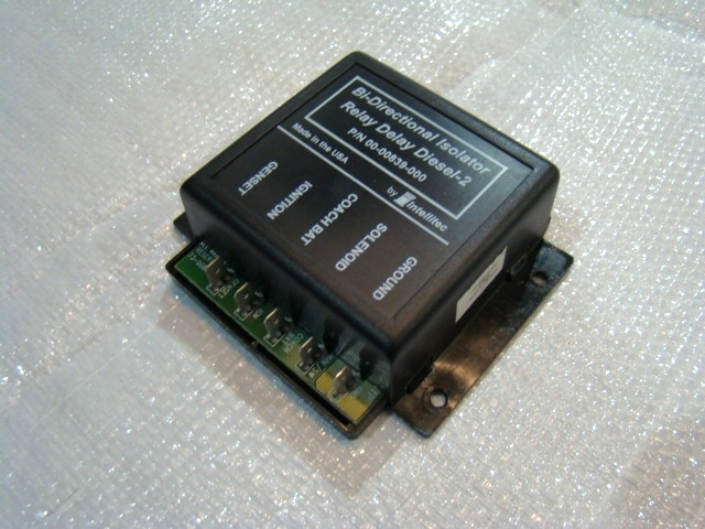 USED BI-DIRECTIONAL RELAY DELAY DIESEL P/N: 00-00839-000 RV Chassis Parts