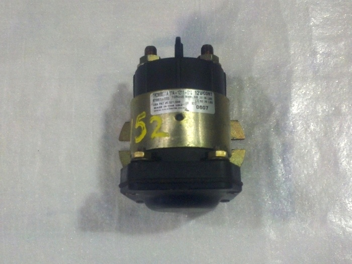 USED TROMBETTA SOLENOID 12V CONTINUOUS. P/N: 114-1211-010 RV Chassis Parts