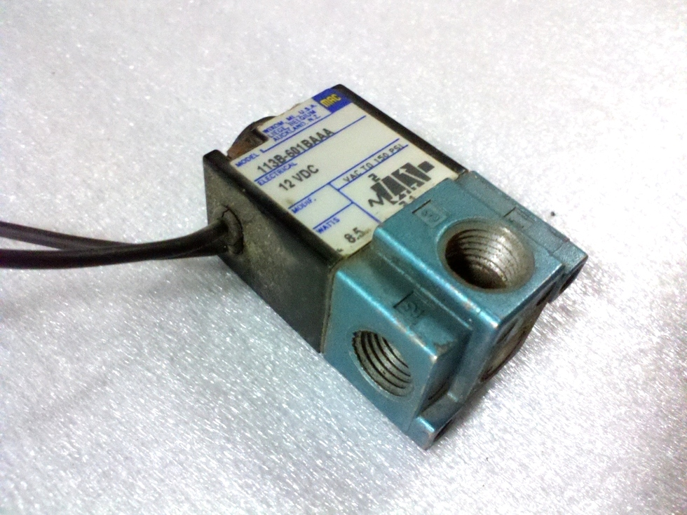USED MAC INDUSTRIES AIR STEP SOLENOID P/N: 113B-601BAAA RV Chassis Parts
