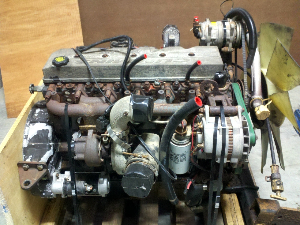 Cummins Diesel Motor | Used 5.9L Cummins Diesel Engine 275 HP For Sale RV Chassis Parts