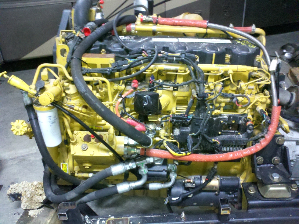 USED CATERPILLAR MOTOR | CAT C9 DIESEL MOTOR 425HP FOR SALE - YEAR 2008 RV Chassis Parts