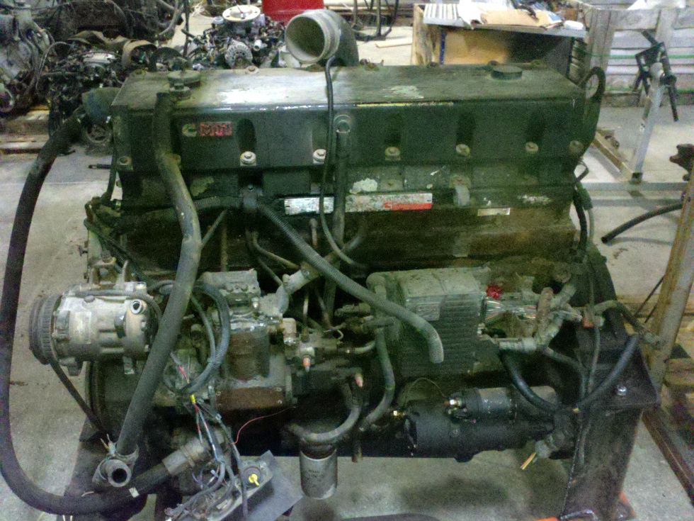 USED CUMMINS M11 400E 400HP DIESEL MOTOR FOR SALE RV Chassis Parts