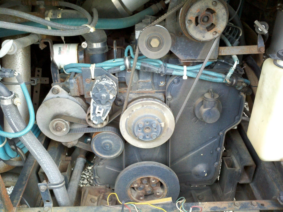 USED CUMMINS DIESEL MOTOR | 8.3L CUMMINS DIESEL MOTOR YEAR 1995 300HP SALE PENDING RV Chassis Parts