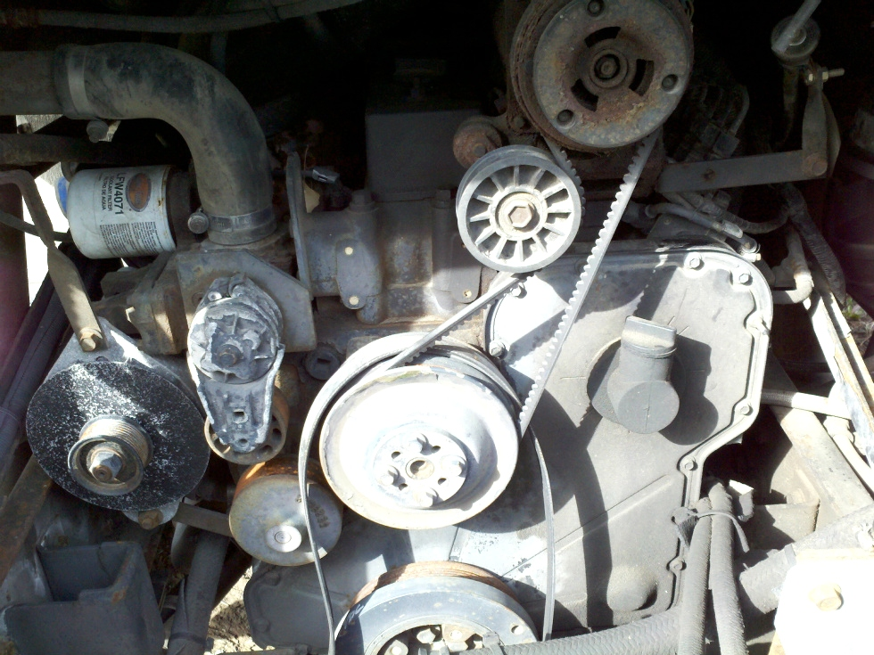 CUMMINS DIESEL MOTOR | USED CUMMINS 8.3L YEAR 1997 325HP FOR SALE RV Chassis Parts