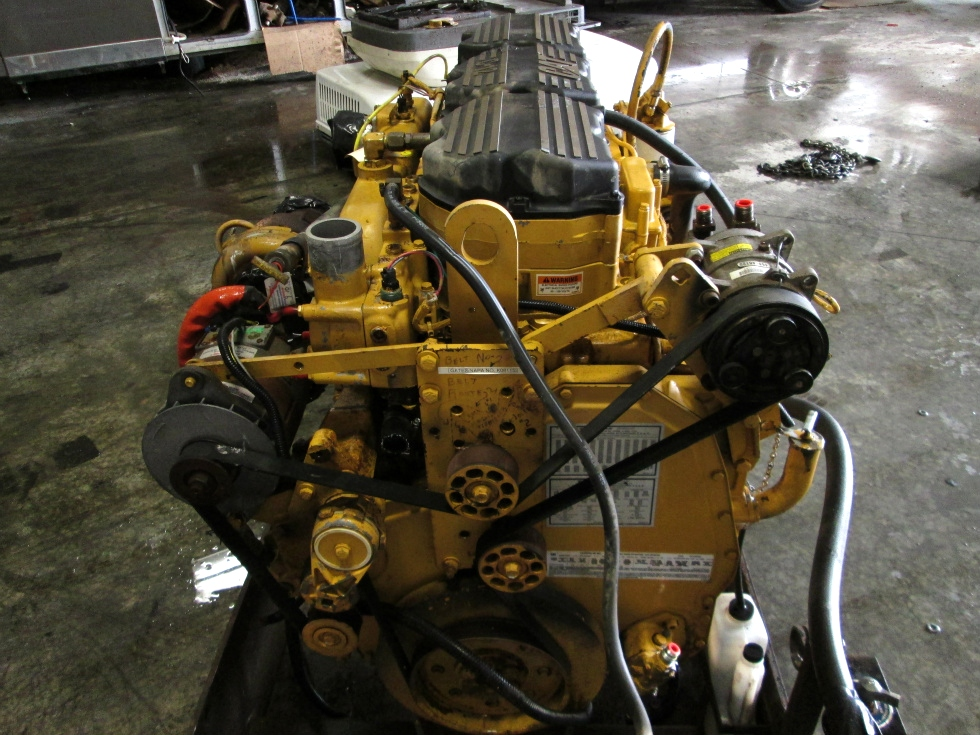 USED CATERPILLAR ENGINE |  2002 CAT C12 505HP DIESEL ENGINE FOR SALE RV Chassis Parts