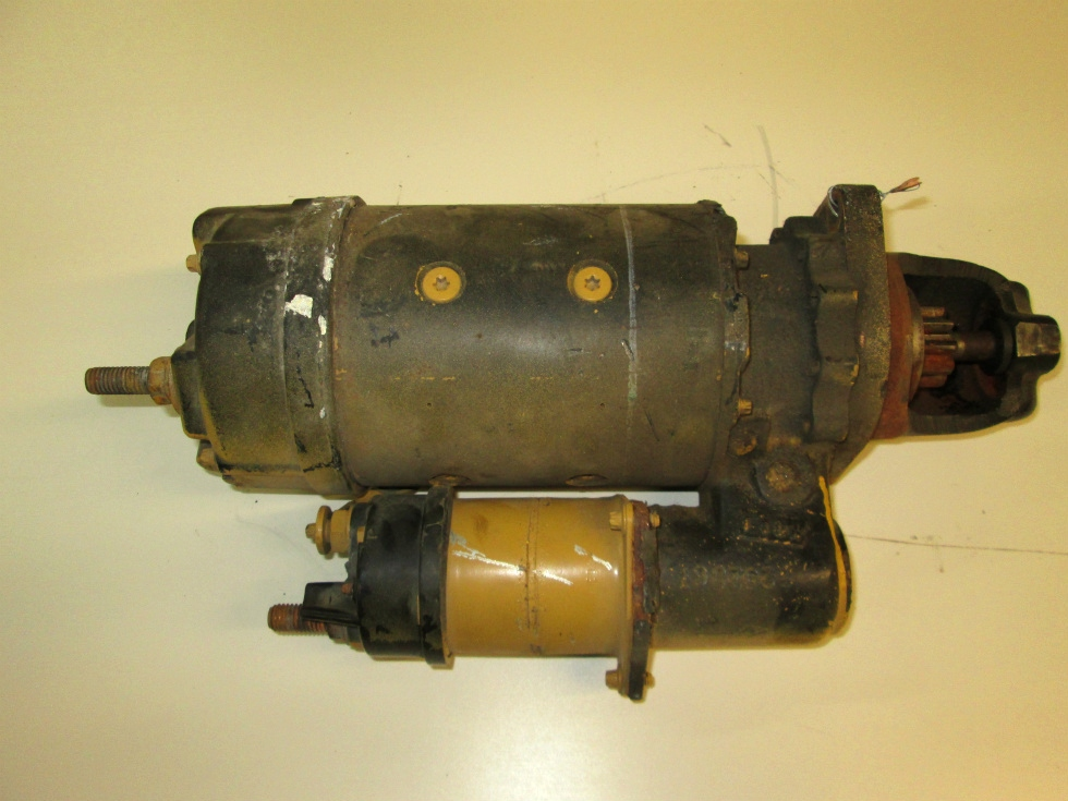 USED STARTER MOTOR FOR CATERPILLAR 3126 P/N 6V4238CW FOR SALE RV Chassis Parts