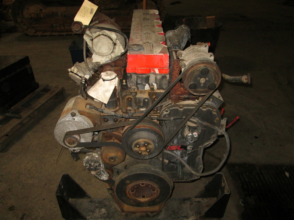 USED CUMMINS  DIESEL MOTOR | CUMMINS ISL 400 DIESEL MOTOR YEAR 2003 FOR SALE RV Chassis Parts