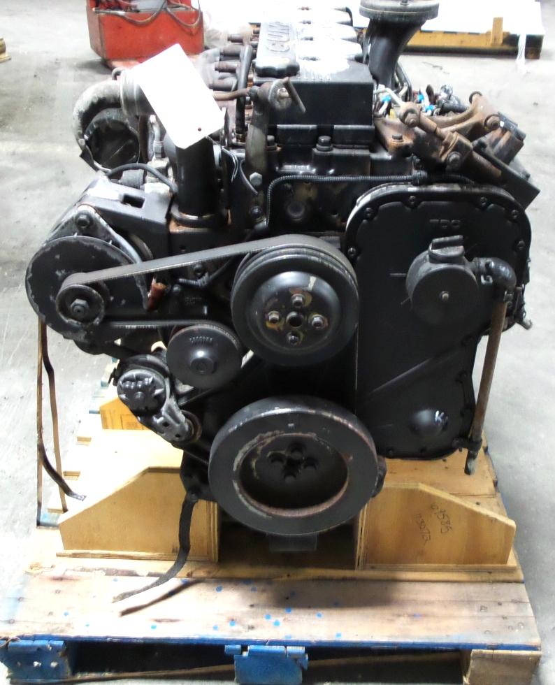 USED CUMMINS DIESEL MOTOR | CUMMINS 8.3L ISC 350 DIESEL ENGINE FOR SALE - LOW MILES RV Chassis Parts