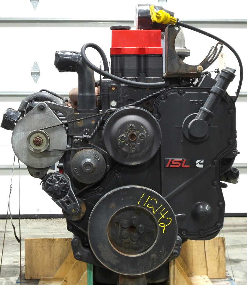 USED CUMMINS ISL ENGINE | CUMMINS DIESEL 8.8L ISL400 FOR SALE - LOW MILES RV Chassis Parts