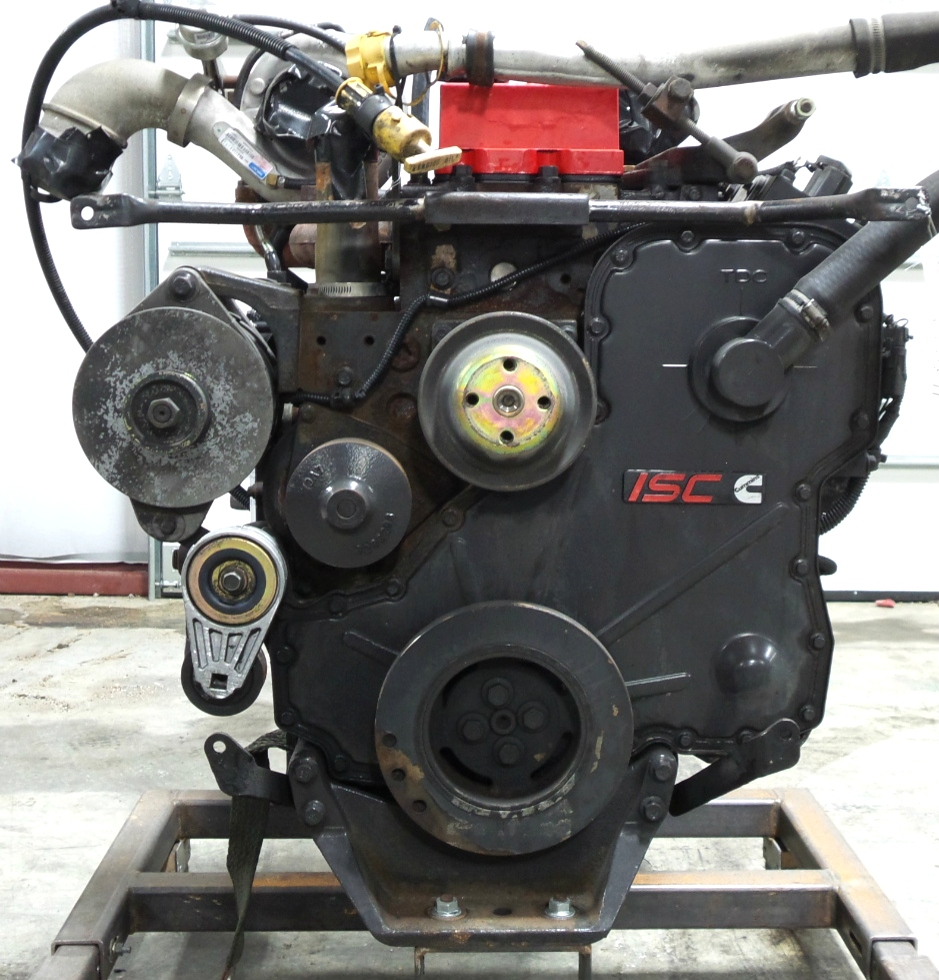 CUMMINS DIESEL ENGINE | CUMMINS ISC350 8.3L 350HP FOR SALE RV Chassis Parts
