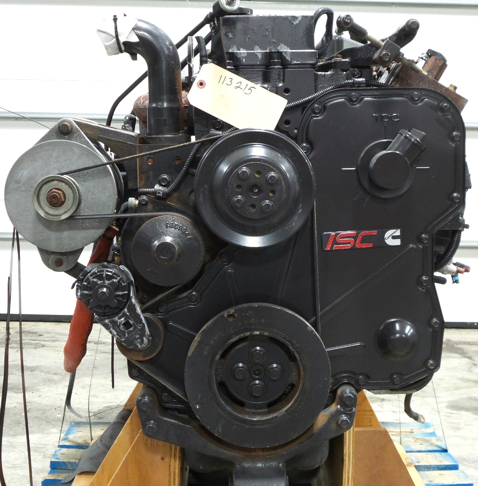 CUMMINS DIESEL ENGINE | CUMMINS 8.3L 350HP FOR SALE - LOW MILES RV Chassis Parts