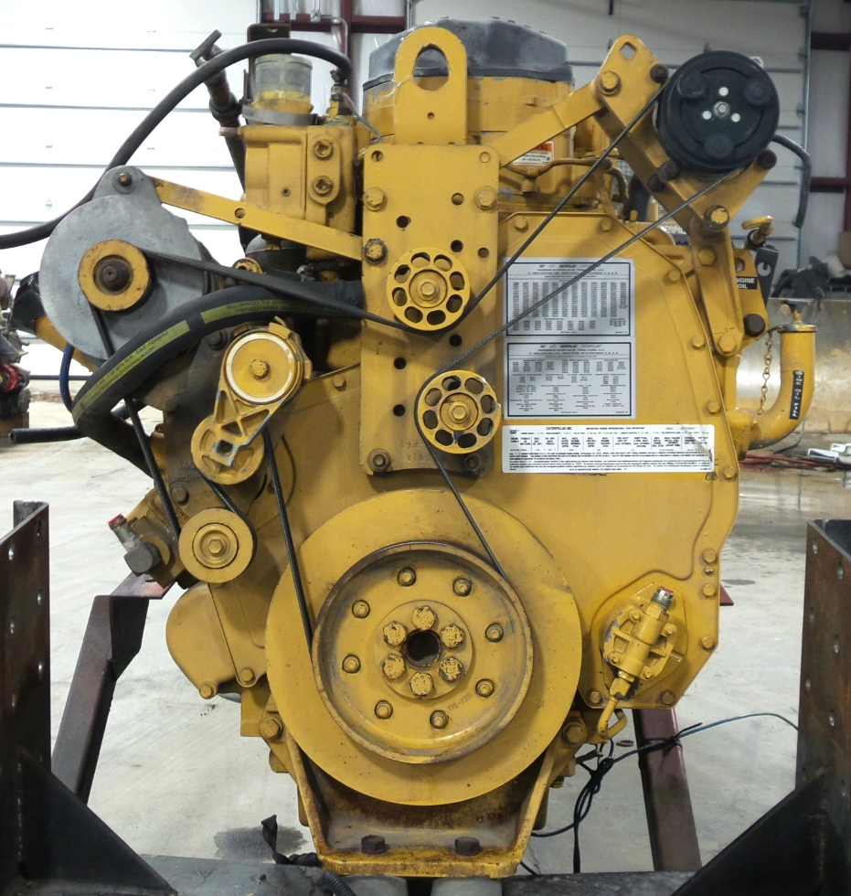 USED CATERPILLAR ENGINE | 2003 CAT C12 DIESEL 11.9L 505HP MOTOR FOR SALE RV Chassis Parts