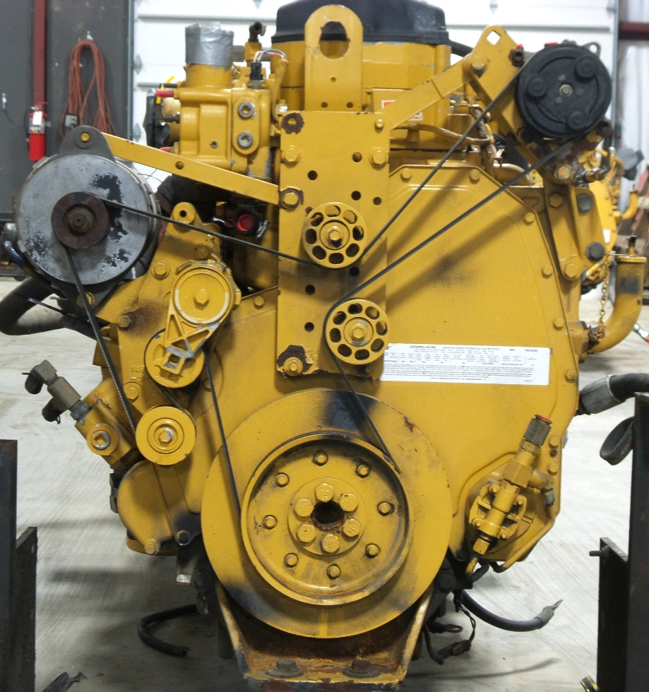 CAT DIESEL MOTOR | USED CATERPILLAR C12 DIESEL MOTOR 2003 11.9L 505HP FOR SALE RV Chassis Parts