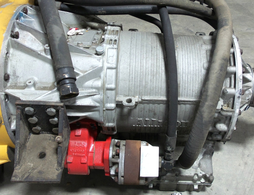 USED ALLISON 4000MH AUTOMATIC TRANSMISSION WITH PTO FOR SALE BUS MOTORHOME TRUCK  RV Chassis Parts