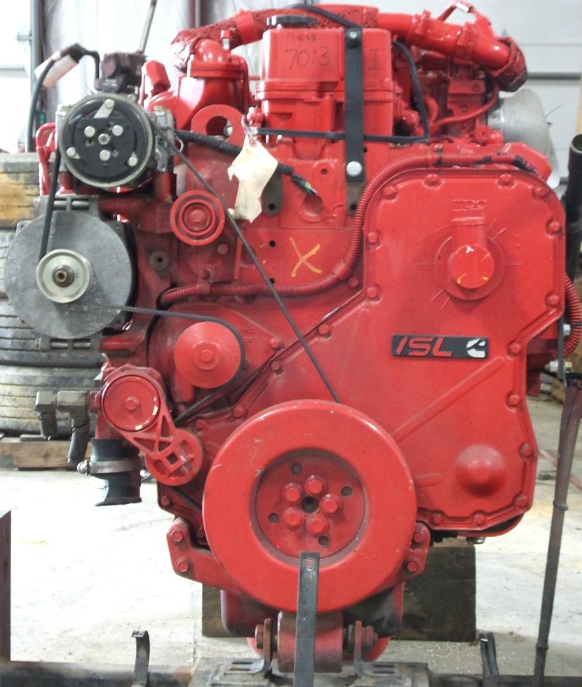 USED CUMMINS DIESEL MOTOR | CUMMINS DIESEL ENGINE FOR SALE 8.9L ISL425 2007  RV Chassis Parts