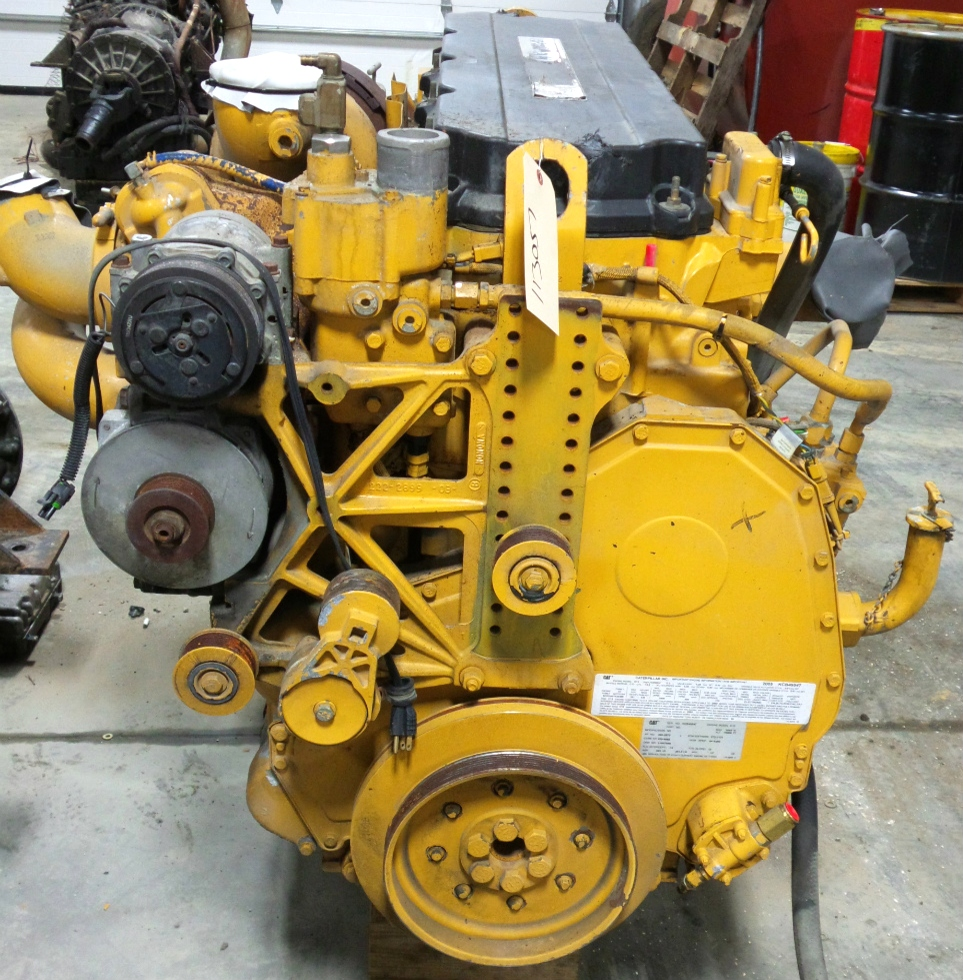 USED CATERPILLAR DIESEL MOTOR | CAT C13 DIESEL MOTOR 2005 12.5L 525HP FOR SALE  RV Chassis Parts