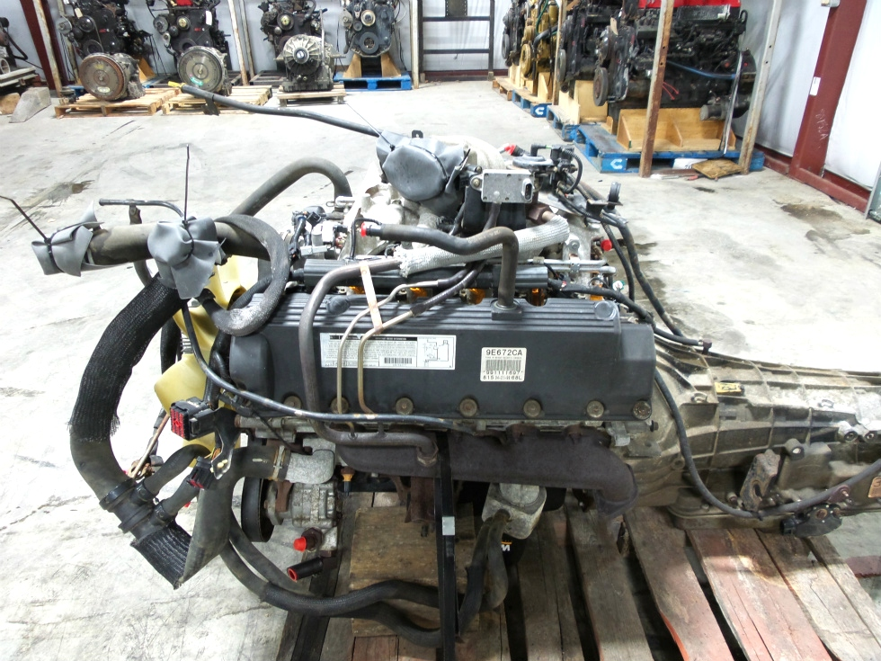 Rv Chassis Parts Used 1999 Ford V10 Triton Engine For Sale