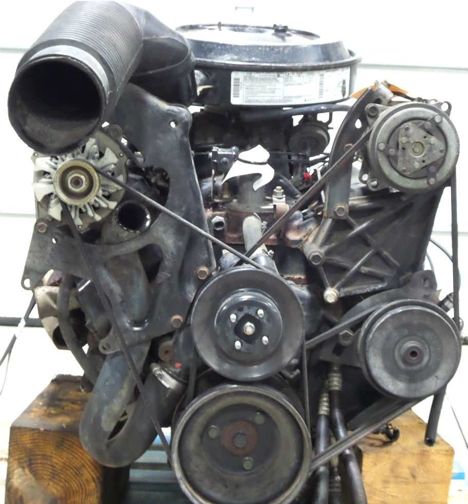 USED 1995 CHEVY 454 V8 GAS ENGINE FOR SALE  RV Chassis Parts