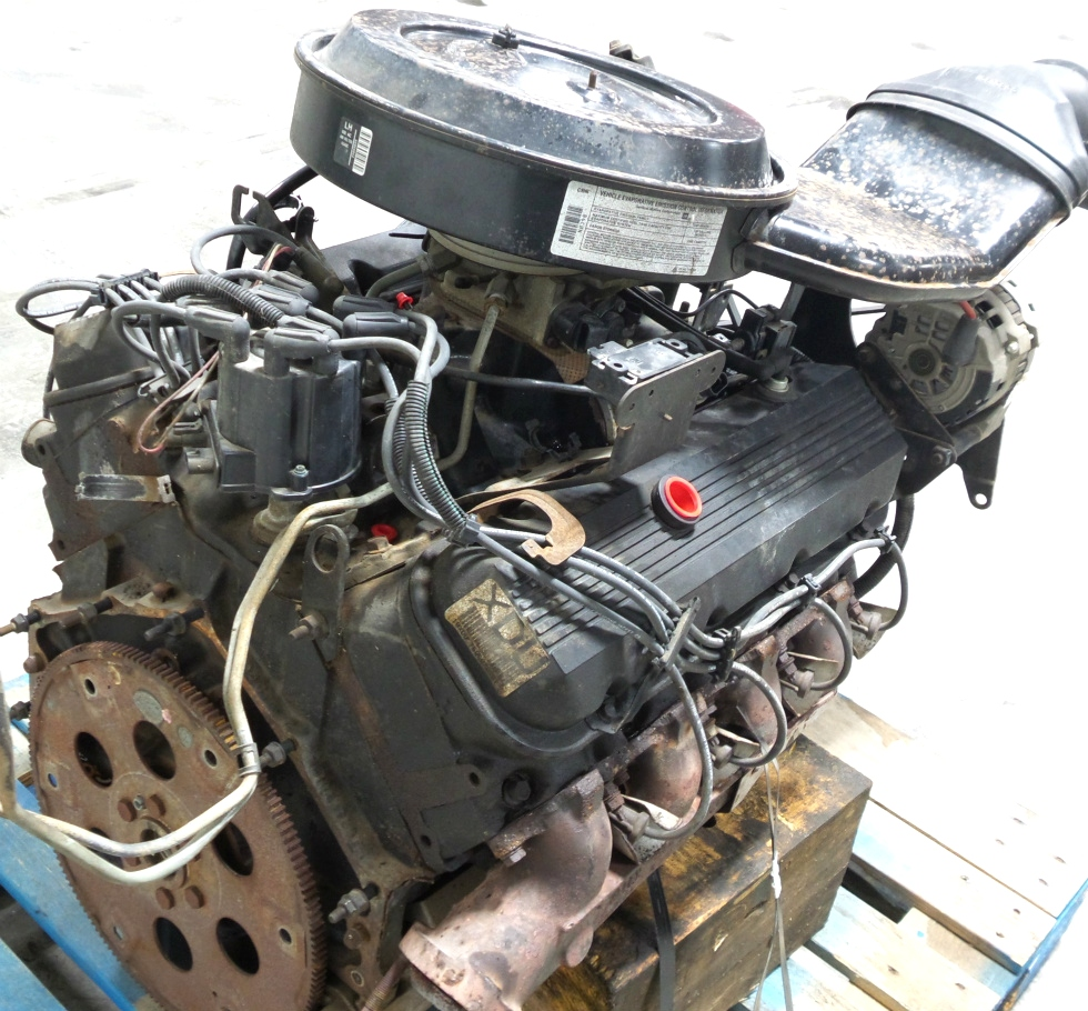 rv chassis parts used 1995 chevy 454 v8 gas engine for sale rv gasoline engines rv salvage. Black Bedroom Furniture Sets. Home Design Ideas