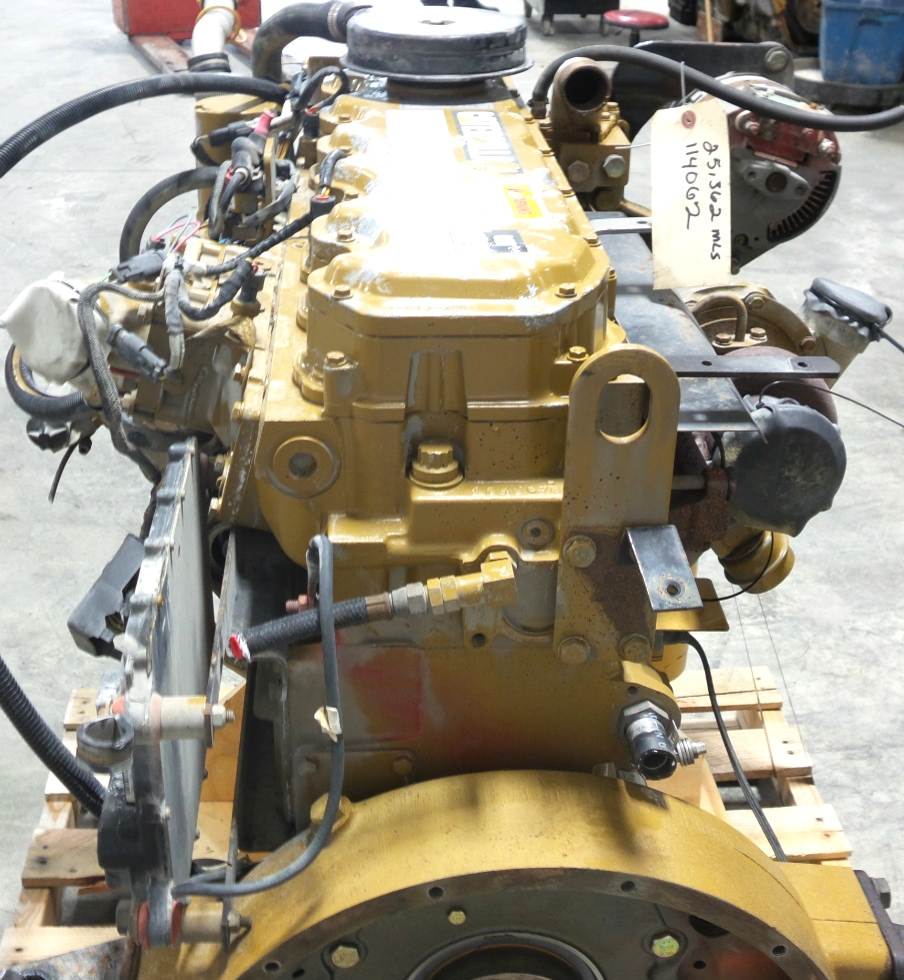 USED CATERPILLAR ENGINE 3126 7.2L YEAR 2000 330HP FOR SALE RV Chassis Parts