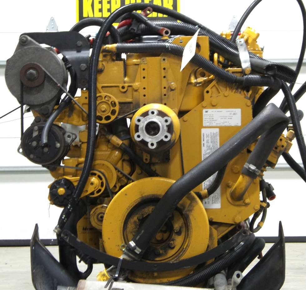 CATERPILLAR DIESEL ENGINE C7 7.2L 350HP YEAR 2006 FOR SALE  RV Chassis Parts
