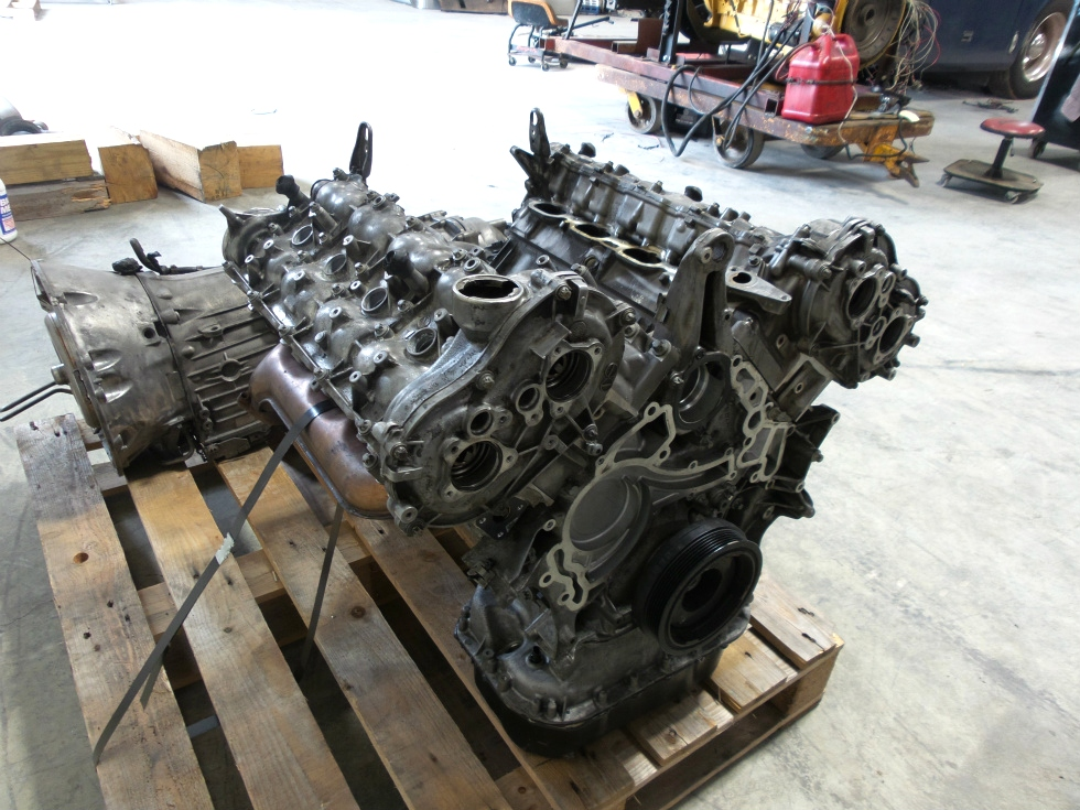USED MERCEDES BENZ MOTOR 5.5L 382HP GL550 2012 FOR SALE RV Chassis Parts