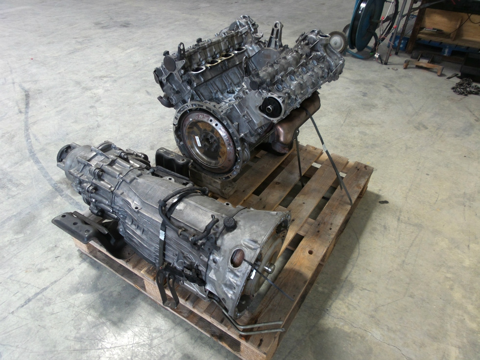 USED MERCEDES BENZ TRANSMISSION GL550 AWD 7 SPEED FOR SALE RV Chassis Parts