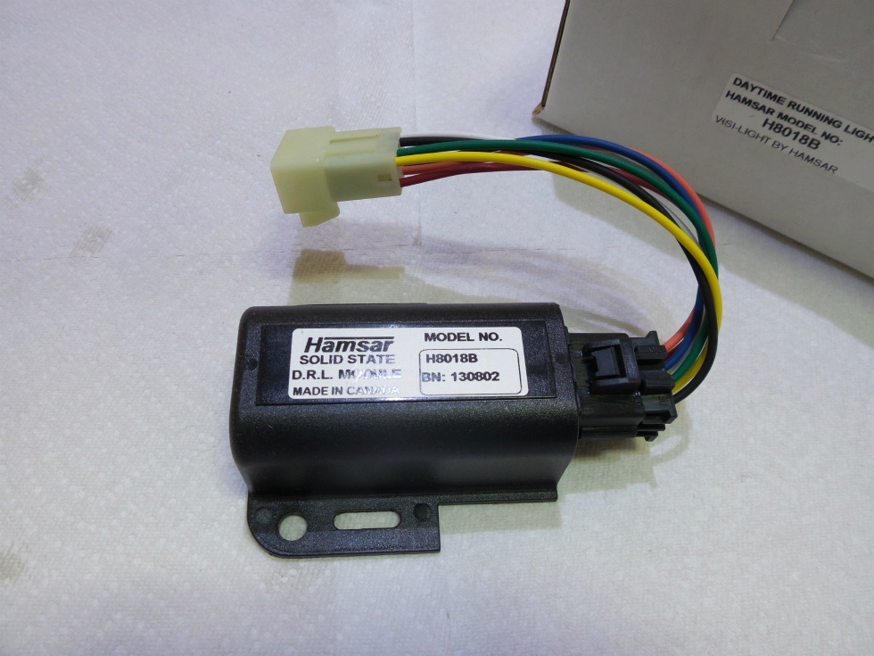 HAMSAR DAYTIME RUNNING LIGHT MODULE H8018B FOR SALE RV Chassis Parts