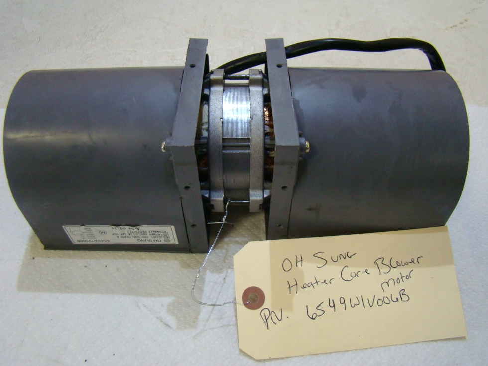 USED HEATER CORE BLOWER MOTOR W/ FANS FOR SALE RV Chassis Parts