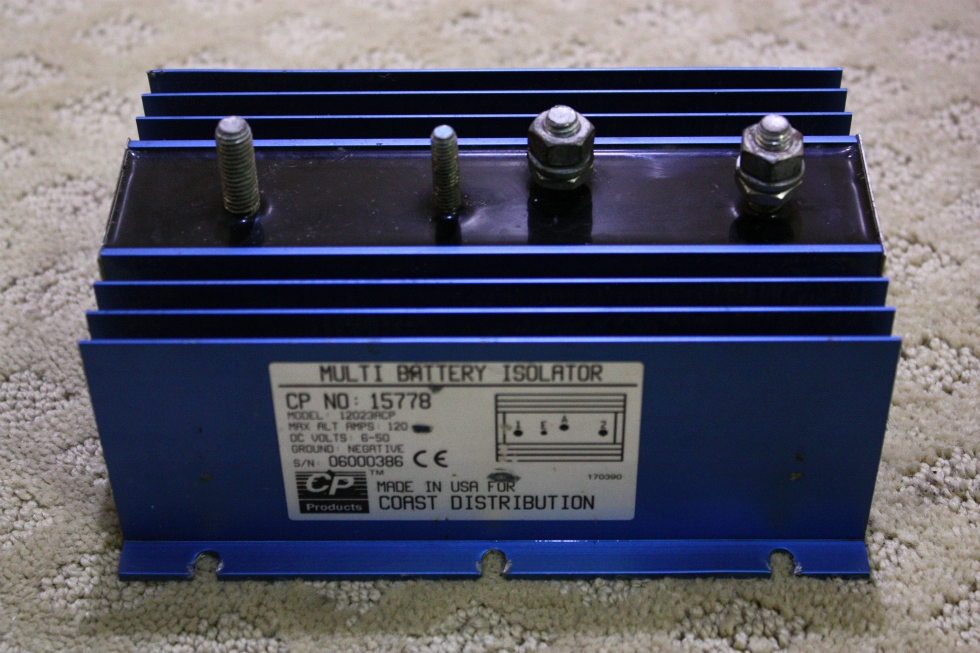 USED CP MULTI BATTERY ISOLATOR 15578 FOR SALE RV Chassis Parts