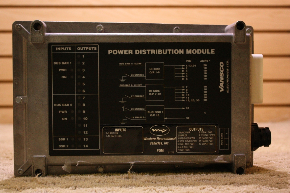 USED POWER DISTRIBUTION MODULE FOR SALE RV Chassis Parts