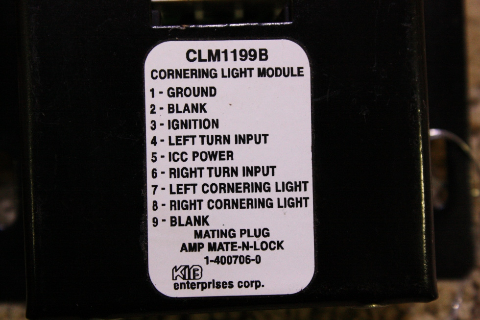 USED KIB CORNERING LIGHT MODULE FOR SALE RV Chassis Parts