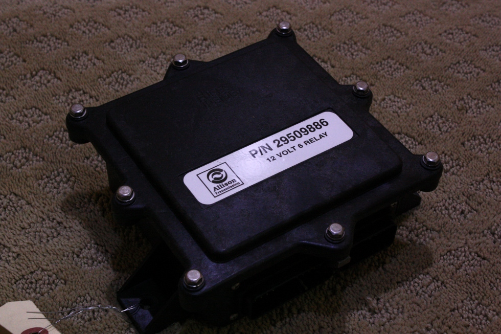 USED ALLISON P/N 29509886 12 VOLT 6 RELAY FOR SALE RV Chassis Parts