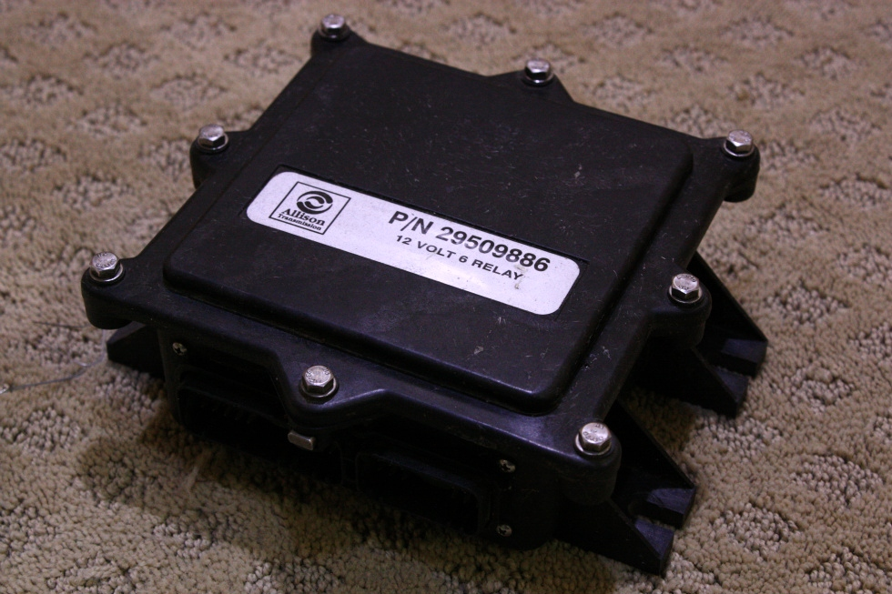 USED ALLISON 12V 6 RELAY P/N 29509886 FOR SALE RV Chassis Parts