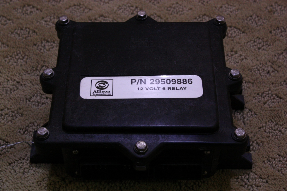 USED ALLISON 12 VOLT 6 RELAY PART NO. 29509886 FOR SALE RV Chassis Parts