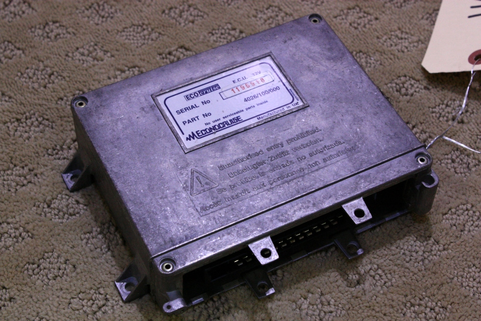 USED ECO CRUISE ECU 4026/100/000 FOR SALE RV Chassis Parts