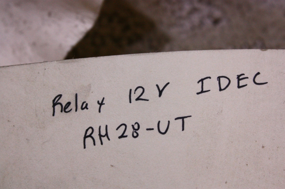 USED IDEC RELAY 12V 67409 FOR SALE RV Chassis Parts
