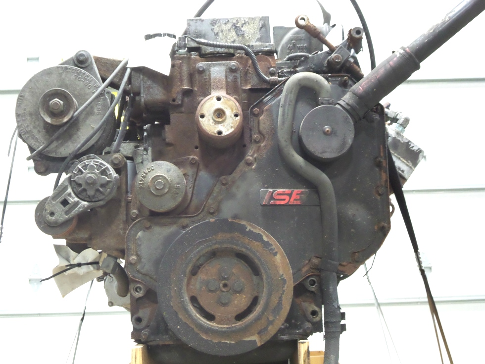 USED CUMMINS DIESEL ENGINE FOR SALE | 2002 CUMMINS ISB 5.9 300HP DIESEL ENGINE FOR SALE  RV Chassis Parts