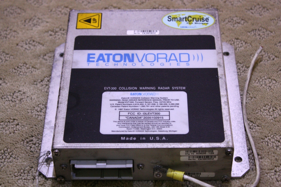 USED EATONVOARD EVT-300 COLLISION WARNING RADAR SYSTEM RV Chassis Parts