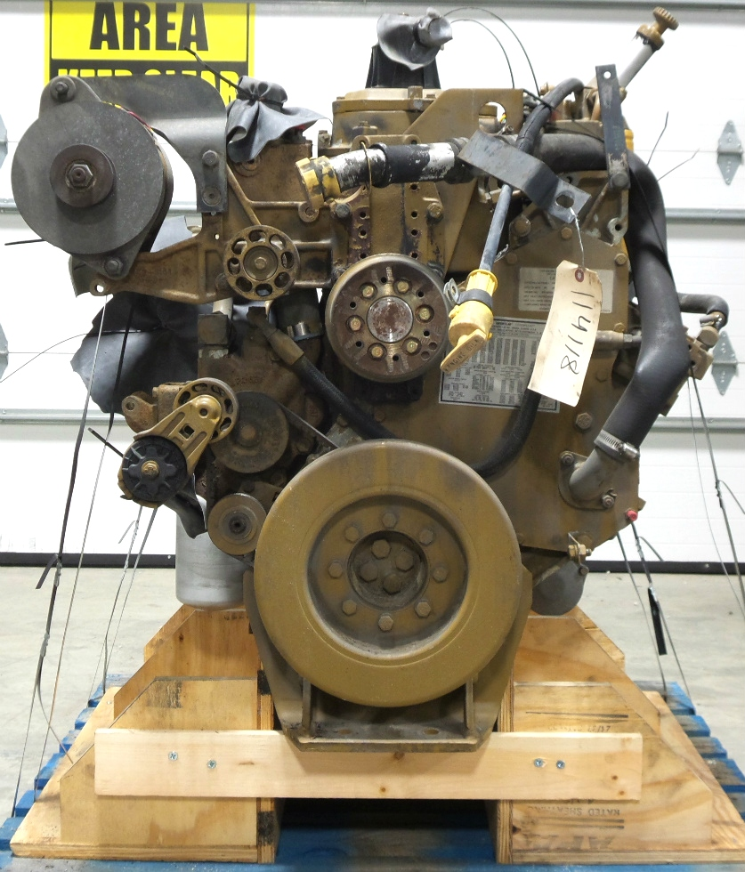 USED CATERPILLAR ENGINE | CAT 3126 7.2L YEAR 2000 330HP LOW MILES FOR SALE  RV Chassis Parts