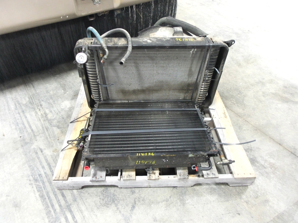 USED 2003 DAMON DAY BREAK WORKHORSE CHASSIS GAS RADIATOR FOR SALE RV Chassis Parts