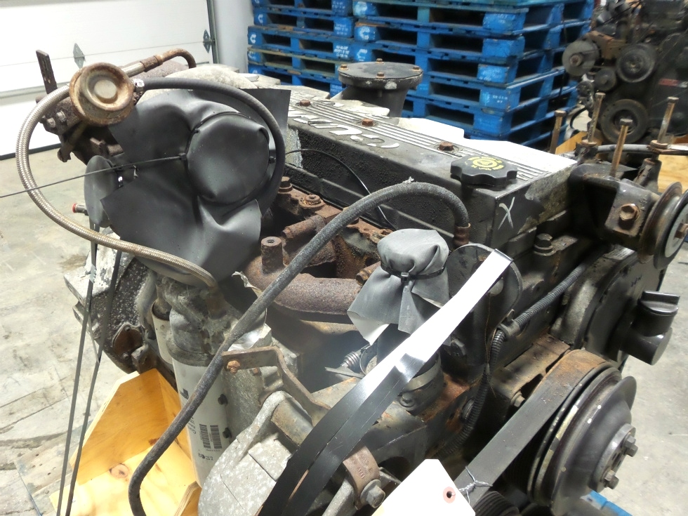 CUMMINS DIESEL ENGINE   USED CUMMINS ISC330 8.3L 330HP FOR SALE  RV Chassis Parts