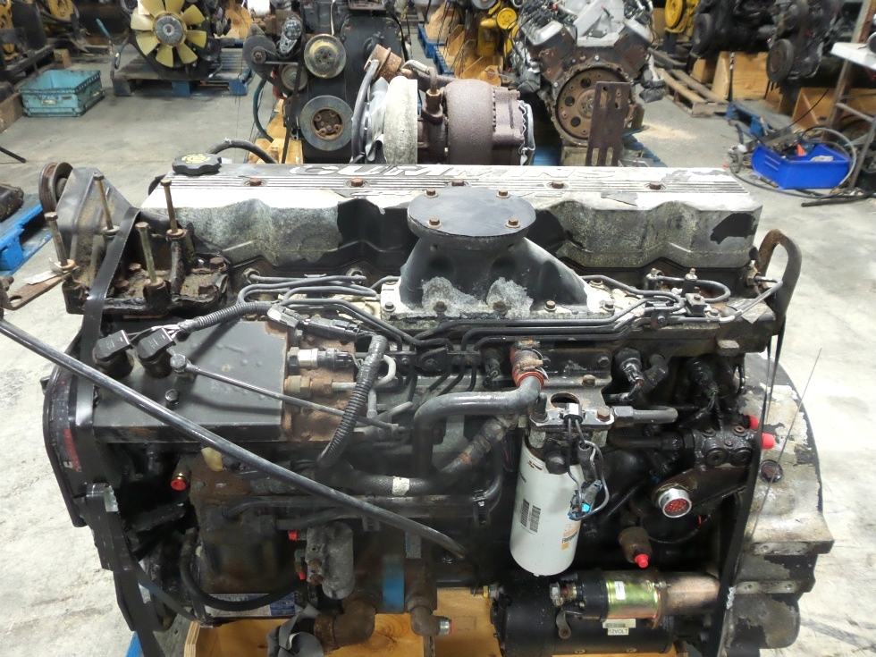 CUMMINS DIESEL ENGINE | USED CUMMINS ISC330 8.3L 330HP FOR SALE  RV Chassis Parts