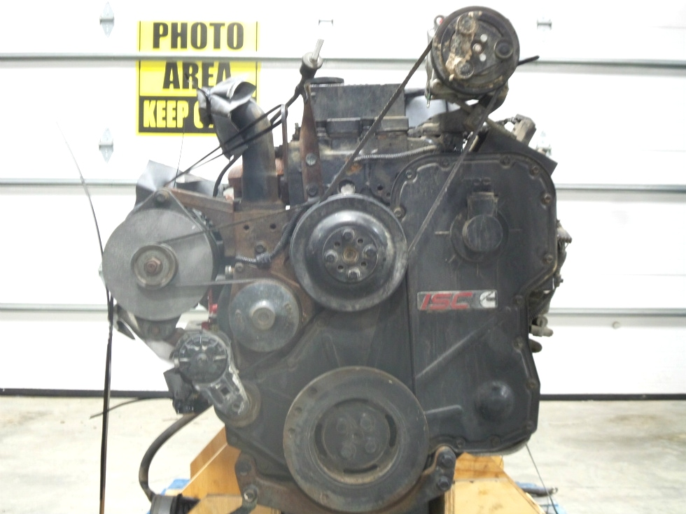 CUMMINS DIESEL ENGINE 8.3L 350HP FOR SALE - LOW MILES  RV Chassis Parts