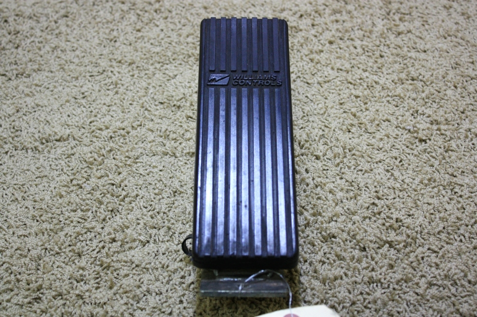 USED WILLIAMS CONTROLS FUEL PEDAL WM526-350827 FOR SALE RV Chassis Parts