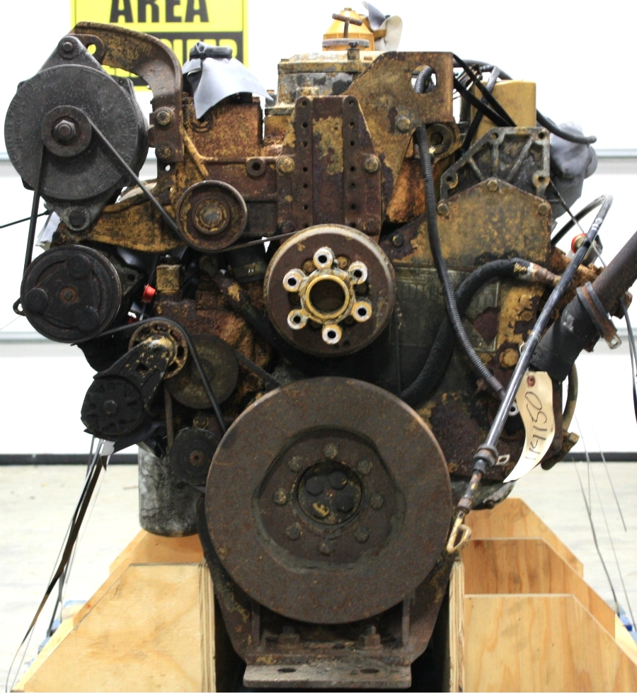 USED CATERPILLAR ENGINE 3126 7.2L YEAR 1998 330HP FOR SALE  RV Chassis Parts