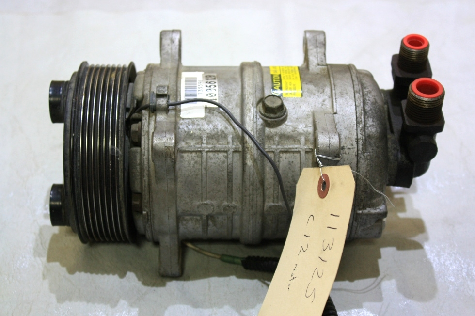 USED C-12 AC COMPRESSOR FOR SALE RV Chassis Parts