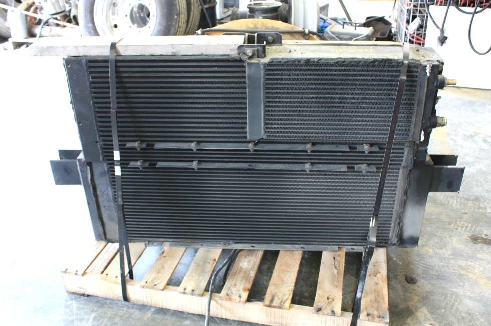USED 2006 FLEETWOOD REVOLUTION COMPLETE RADIATOR SYSTEM FOR SALE RV Chassis Parts