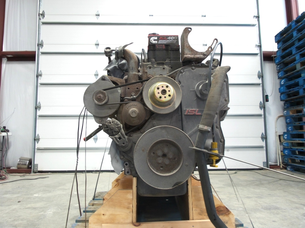 USED CUMMINS ISL400 ENGINE FOR SALE 8.8L 2003 LOW MILES  RV Chassis Parts