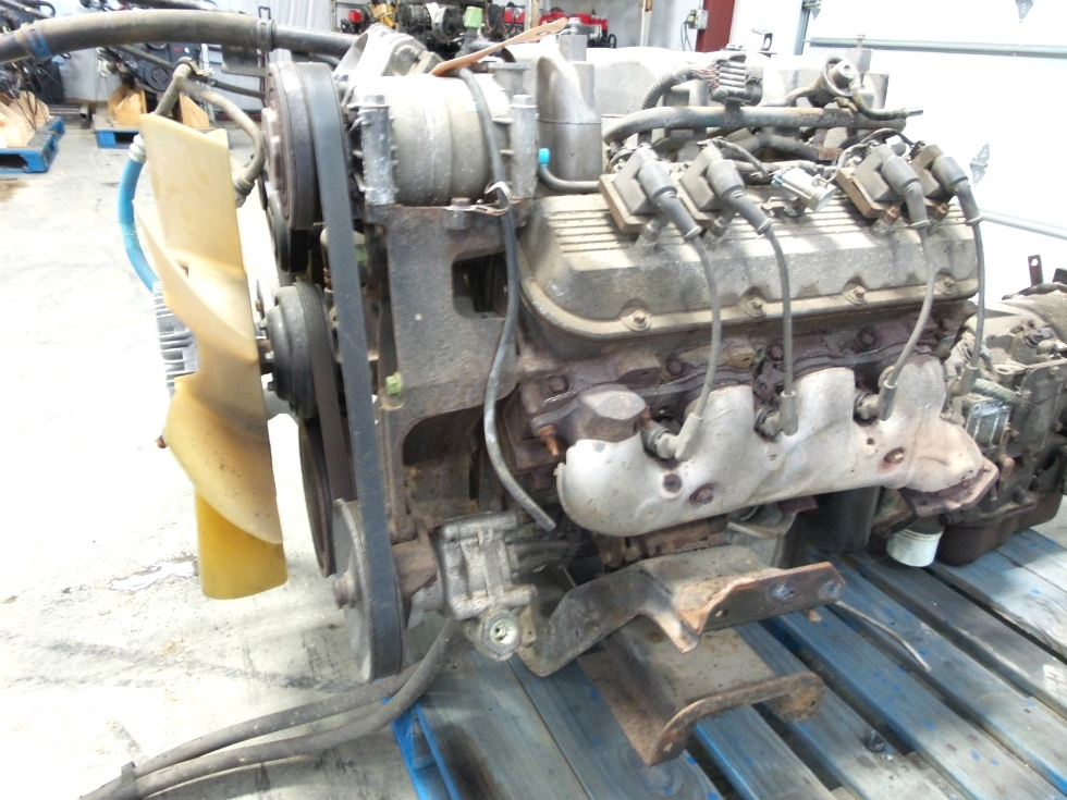 USED CHEVY VORTEC 8100 8.1L ENGINE WITH ALLISON TRANSMISSION FOR SALE  RV Chassis Parts